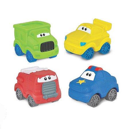 Brinquedo Infantil Kit Carros Amiguinhos WinFun 1290