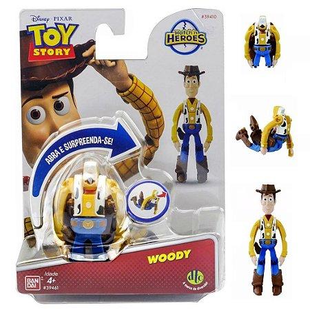 Novo Hatch n Heroes Disney Pixar Toy Story Woody Dtc 3716