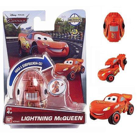 Novo Hatch n Heroes Disney Pixar Carros McQueen Dtc 3716