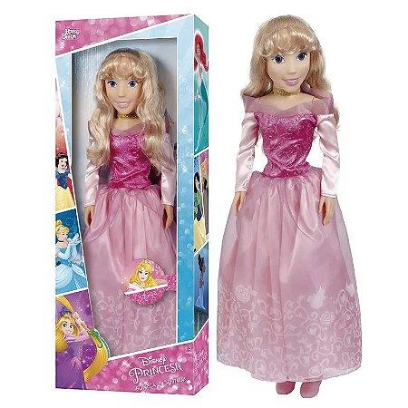 Nova Boneca Disney Princesa Aurora Novabrink Baby Brink 2004