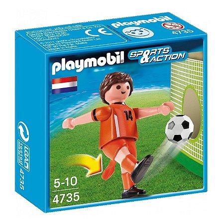 Playmobil Esportes Seleçoes Fifa Jogador Holanda 4735