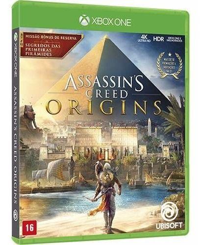 Jogo Mídia Física Assassins Creed Origins Para Xbox One