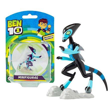 Novo Brinquedo Ben 10 Mini Figuras Alien Xlr8 Sunny 1758