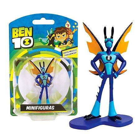Novo Brinquedo Ben 10 Mini Figuras Insectoide Sunny 1758