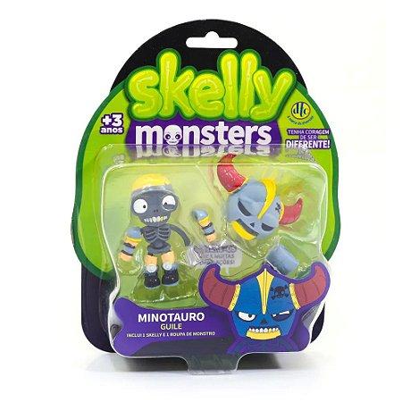 Brinquedo Skelly Monster Dtc 5041 4 Modelos Envio Aleatório
