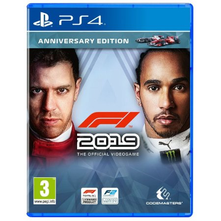 Jogo Novo Midia Fisica F1 2019 Anniversary Edition para Ps4