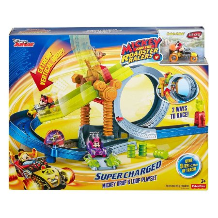 Pista Mickey and the Roadster Racers Fisher Price Fpj57
