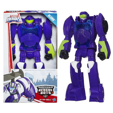 Brinquedo Transformers Rescue Bots Blurr Hasbro A8303