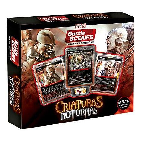 Novo Box Copag Battle Scenes Marvel Criaturas Noturnas