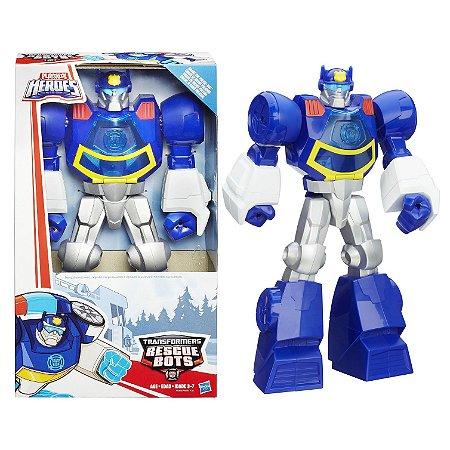 Brinquedo Transformers Rescue Bots Chase Hasbro A8303