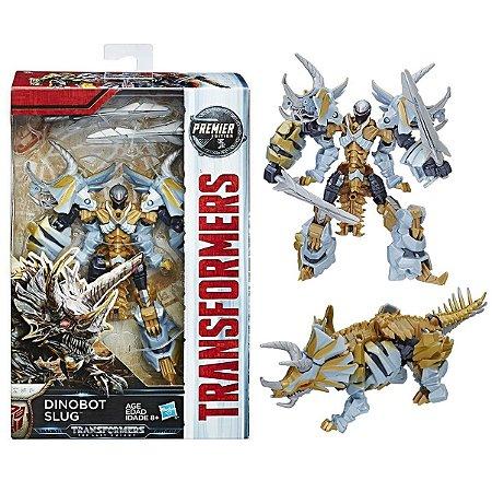 Boneco Transformers Dinobot Slug Premier Deluxe Hasbro C0887