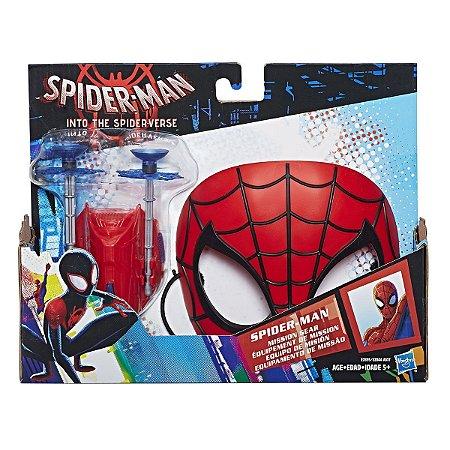 Brinquedo Mascara com Lança Teias Homem Aranha Hasbro E2844