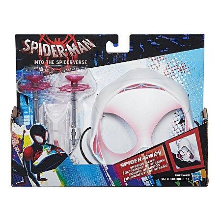 Brinquedo Mascara com Lança Teias Spider Gwen Hasbro E2844