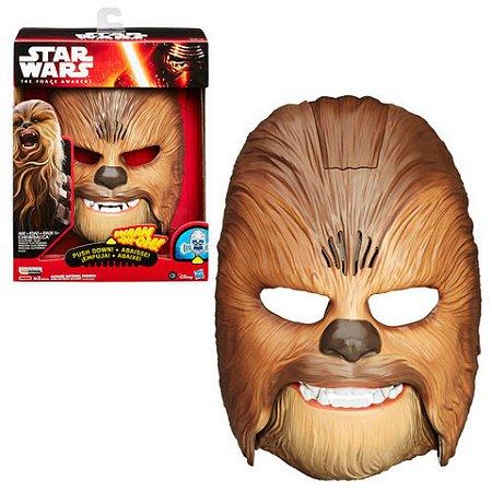 Novo Star Wars E7 Mascara Eletronica Chewbacca Hasbro B3226