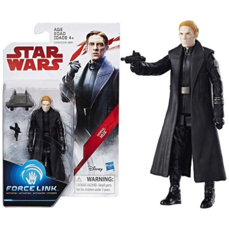 Star Wars Figura de Açao Force Link General Hux Hasbro C1531