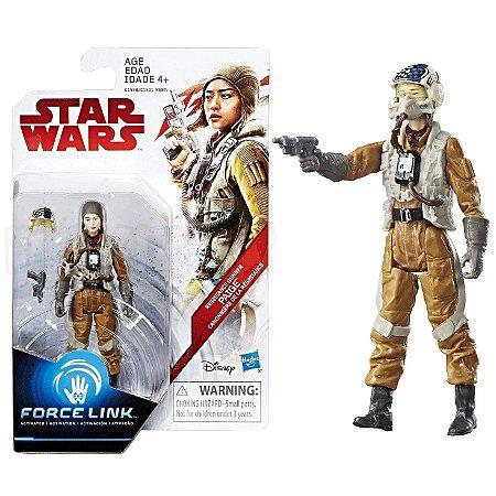 Star Wars Figura de Açao Force Link Paige Ep 8 Hasbro C1531