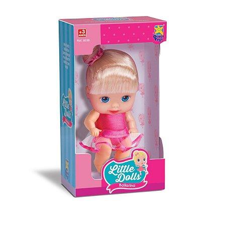 Boneca Little Dolls Bailarina Com Cheirinho Divertoys 8036