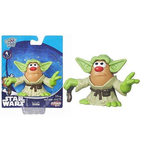 Boneco Mr Potato Head Mashup Star Wars Yoda Hasbro B5144