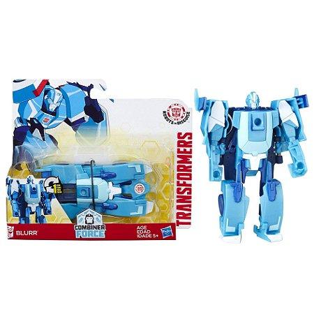 Novo Transformers Combiner Force Blurr One Step Hasbro B0068