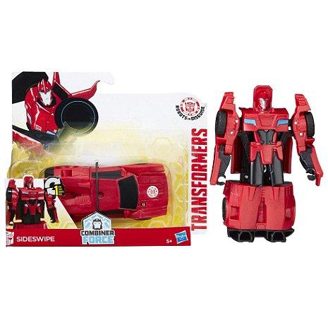 Novo Transformers Combiner Force Sideswipe Hasbro B0068