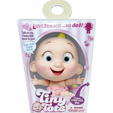 Boneca Interativa Menina Loira Tiny Tots Candide 8801