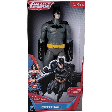 Boneco Articulado Batman 35Cm Eletrônico Candide 9818