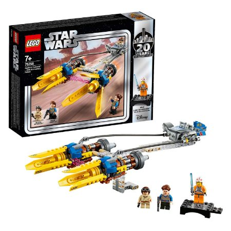 Novo Lego Star Wars Podracer de Anakin Ediçao 20 anos 75258