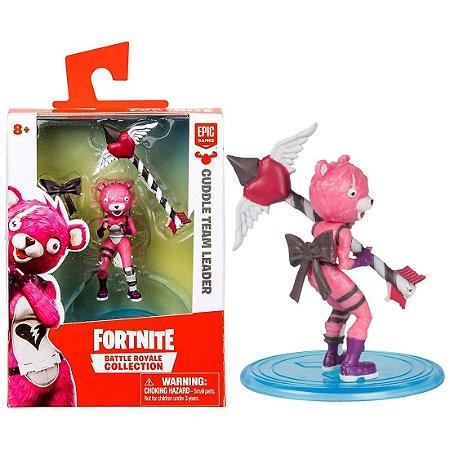 Boneco Mini Figura Fortnite Cuddle Team Leader Fun 84706