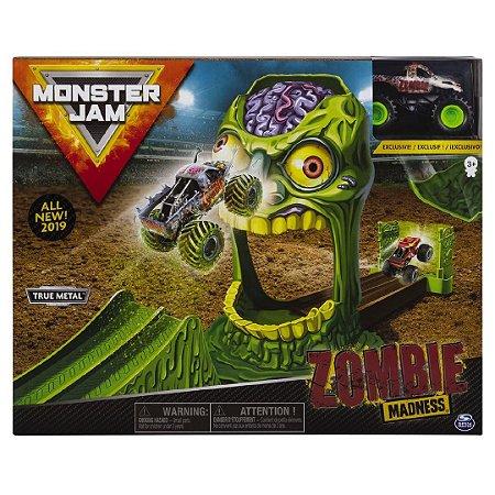 Brinquedo Playset Monster Jam Zombie Madness Sunny 2021