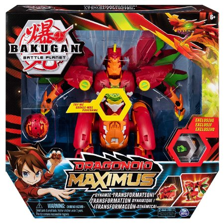 Figura Bakugan Battle Planet Dragonoid Maximus Sunny 2075