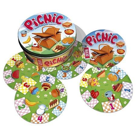 Novo Brinquedo Jogo de Cartas com 90 Cards PicNic Devir
