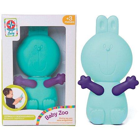 Brinquedo Infantil Amiguinho Baby Zoo Coelhinho Bebe Estrela