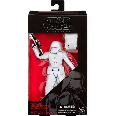 Novo Boneco Star Wars The Black Series Snowtrooper B3834