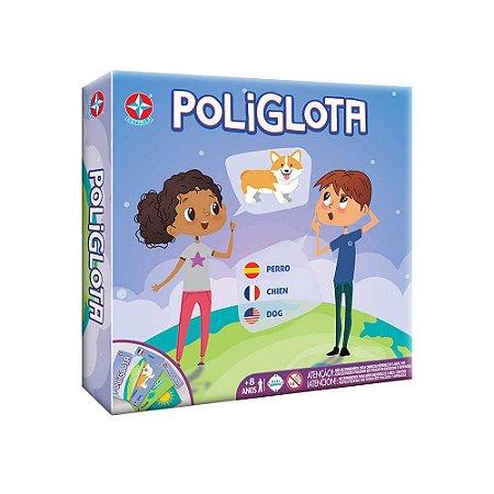Novo Brinquedo Jogo de Tabuleiro Poliglota Original Estrela