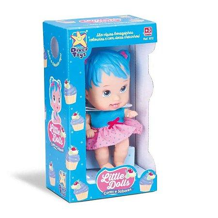 Boneca Little Dolls Cores e Sabores Tutti Fruti 672