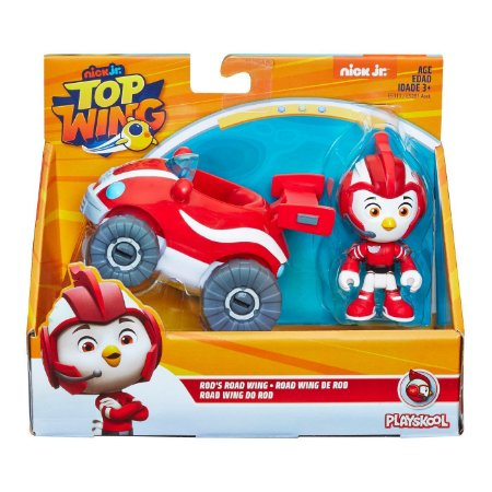 Boneco Top Wings Road Wing do Rod Playskool Hasbro E5281