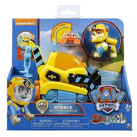 Brinquedo Sunny Patrulha Canina Rubble Sea Patrol 1351