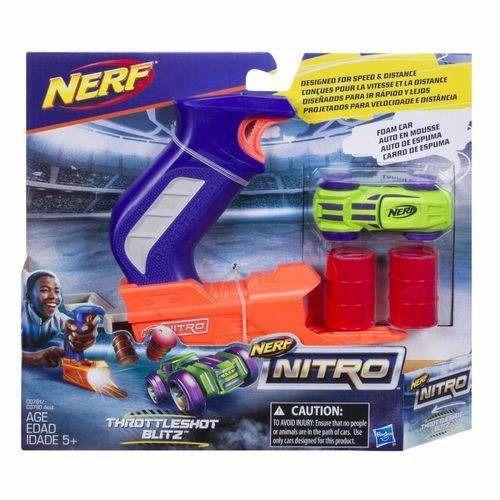 Brinquedo Nerf Nitro Throttleshot Lançador De Carro C0780