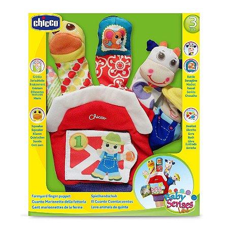 Brinquedo Dedoche Fazendinha Baby Senses 3-24 meses Chicco