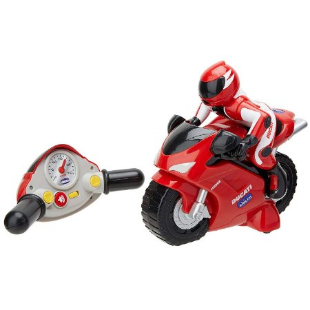 Brinquedo Moto de Controle Remoto Ducati 1198 Rc Chicco