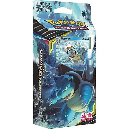 Pokemon Deck Sol E Lua 9 Uniao de Aliados Blastoise Copag