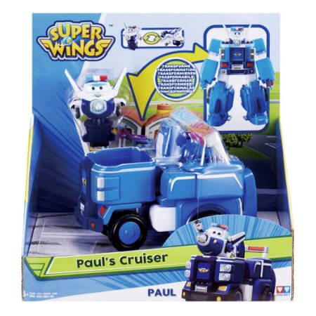 Brinquedo Super Wings Transformaçao Paul Cruiser Fun 84351
