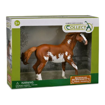 Figura Cavalo Mustang Manchado Escala 1:12  Collecta