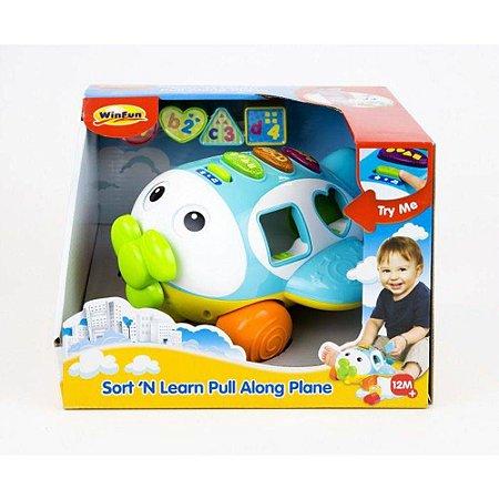 Brinquedo Avião de Atividades com Sons e Luzes Winfun 1505