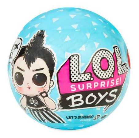 Boneco Boy Lol Boys Surprise 7 Surpresas Lançamento Candide