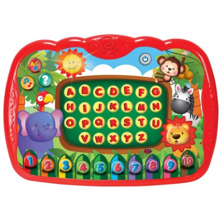 Brinquedo Meu Primeiro Tablet Com Sons e Luzes WinFun 227055