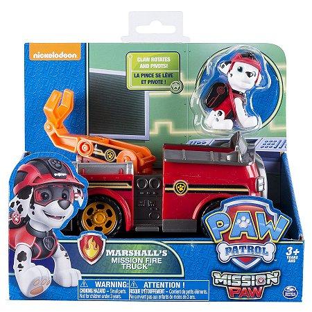 Patrulha Canina Marshall Mission Paw Fire Truck Sunny 1351