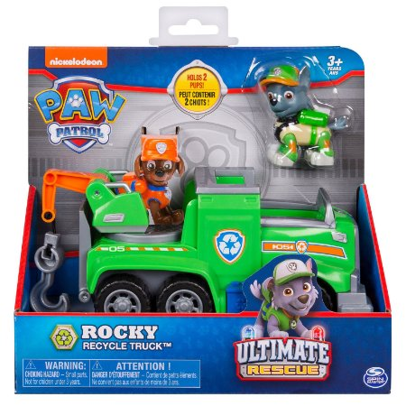 Patrulha Canina Ultimate Rescue Rocky Recycle Truck 1391