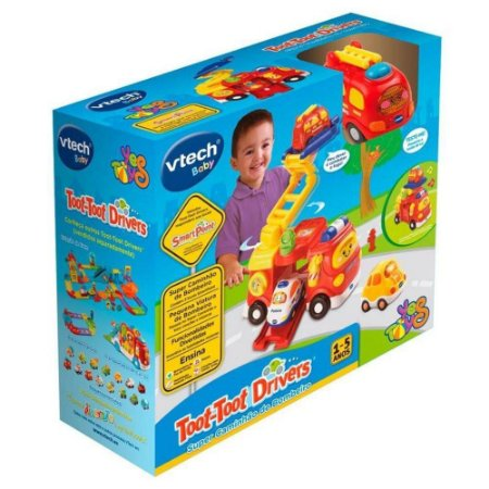 Super Caminhão de Bombeiro Toot Toot Drivers Vtech Baby