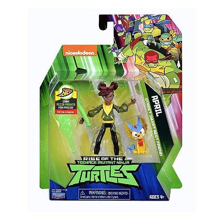 Figura de Açao As Tartarugas Ninjas April O Neil Sunny 2040